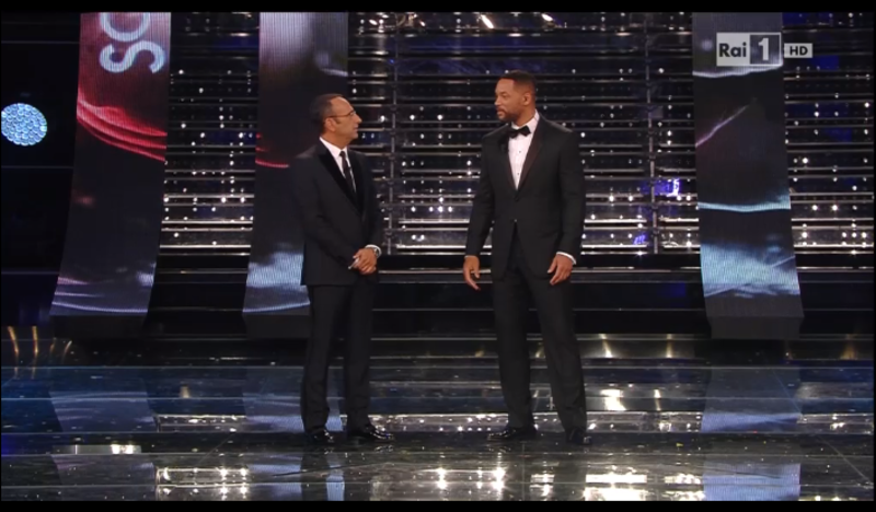 Will Smith Sanremo