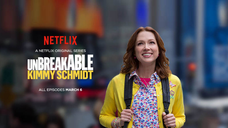 unbreakable kimmy schmidt netflix promo wallpaper 4316