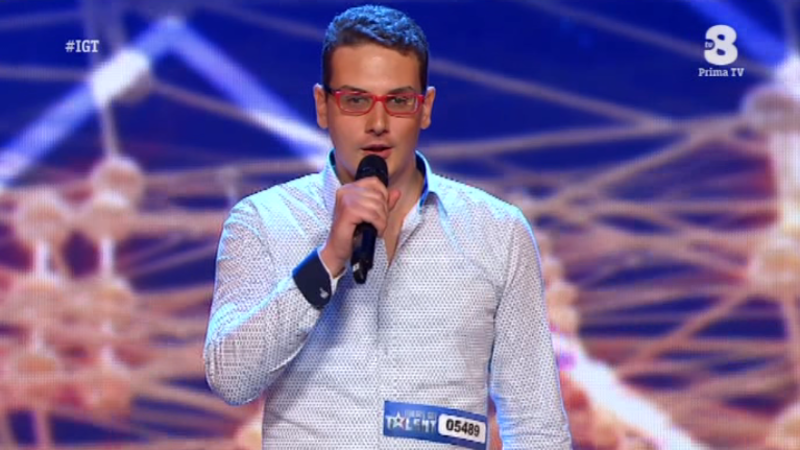 Antonio Pompò italias got talent