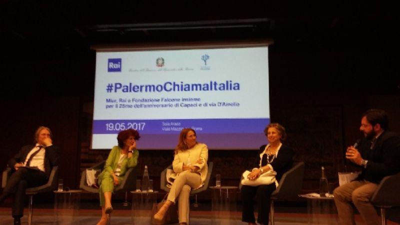 Parte la nave della legalità: Palermo chiama Italia