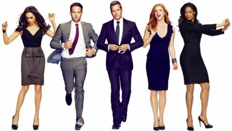 suits 6 persognaggi