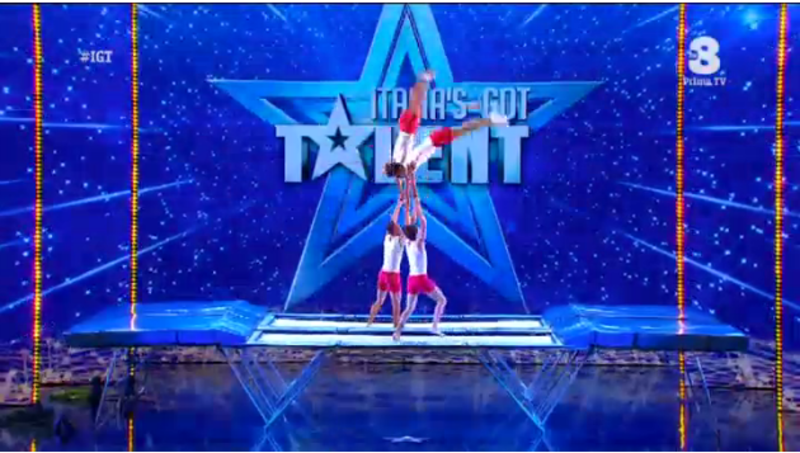 italia s got talent 10 marzo tappeto elastico