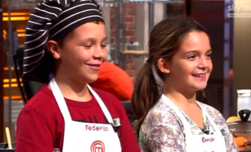 I finalisti di Junior MasterChef 1