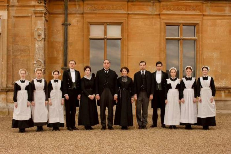 La servitù di Downton Abbey