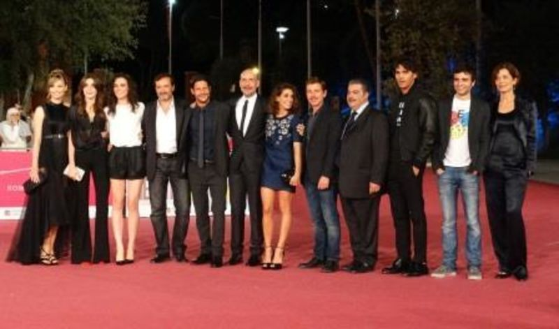 Il cast al Roma Fiction Fest
