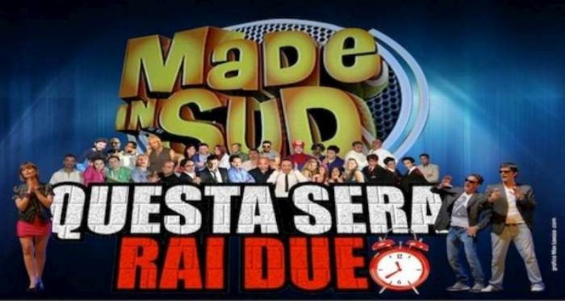 Made in Sud, il programma di Rai2