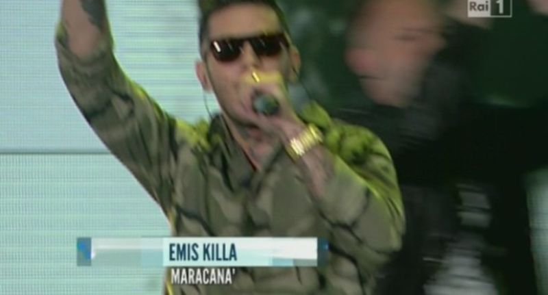 Emis Killa ai Music awards