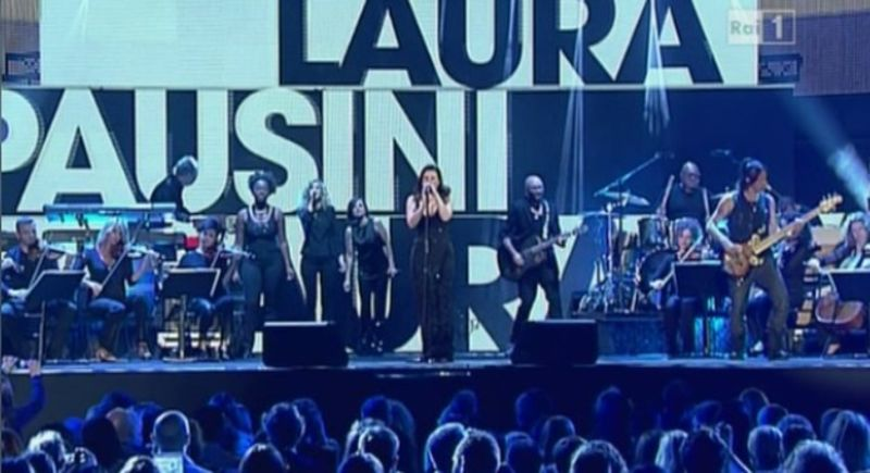 Laura Pausini ai Music awards