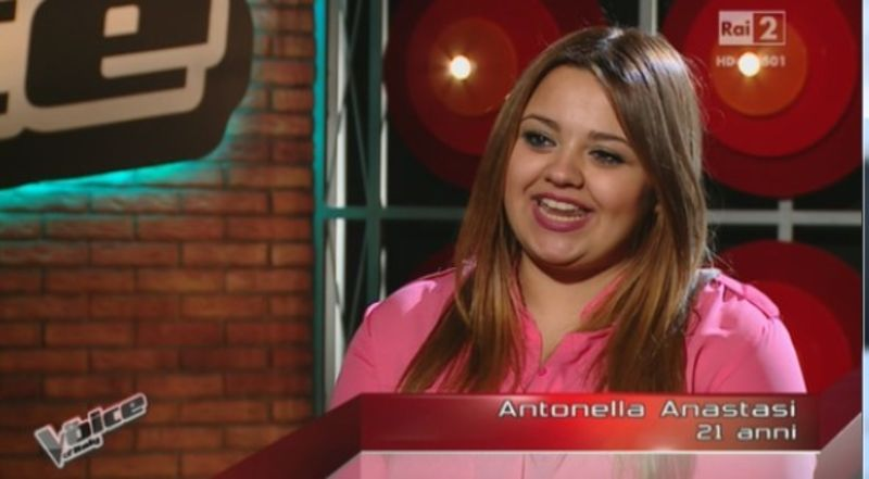 Antonella a The Voice