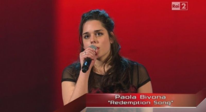 Paola a The Voice 2
