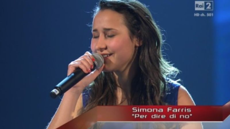 Simona a The voice 2