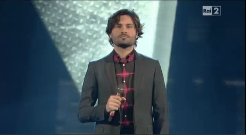 Federico Russo conduce The Voice 3