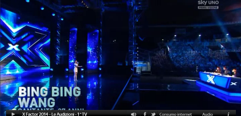 Bing Bing, concorrente cinese a X Factor 8