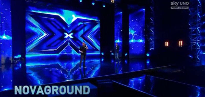 I Novaground a X Factor 8