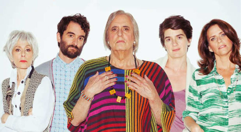Il cast di Transparent