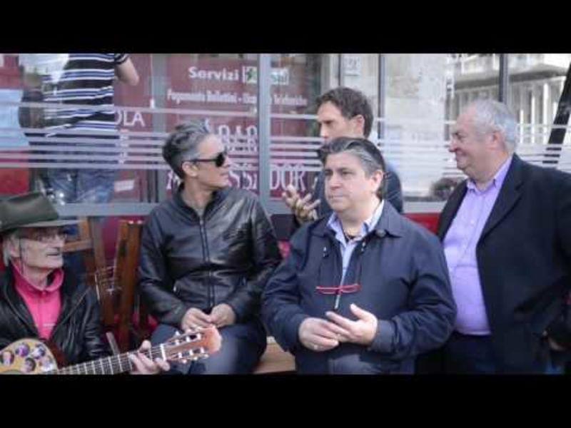 Fiorello su Sky Uno con Edicola Fiore e Giuliano
