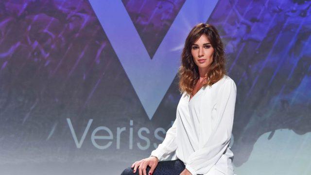 Verissimo Belen Rodriguez ospite di Silvia Toffanin
