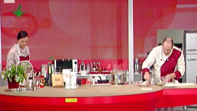 Fabrizio Frizzi a La Prova del Cuoco: la sorpresa ad Antonella Clerici