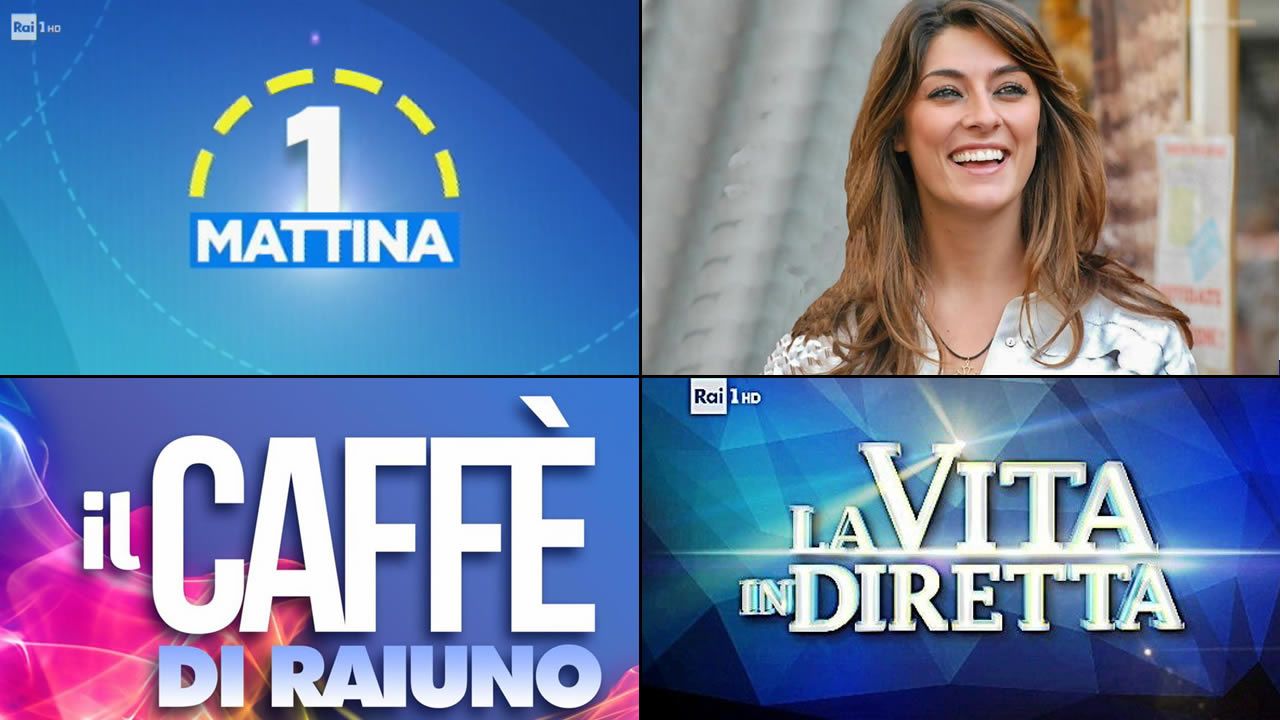 Il daytime di Raiuno a partire dall'11 settembre - Marida Caterini - TV  Intrattenimento Informazione Talk Show