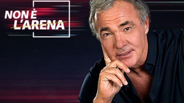 Non è L'Arena 16 febbraio Massimo Giletti