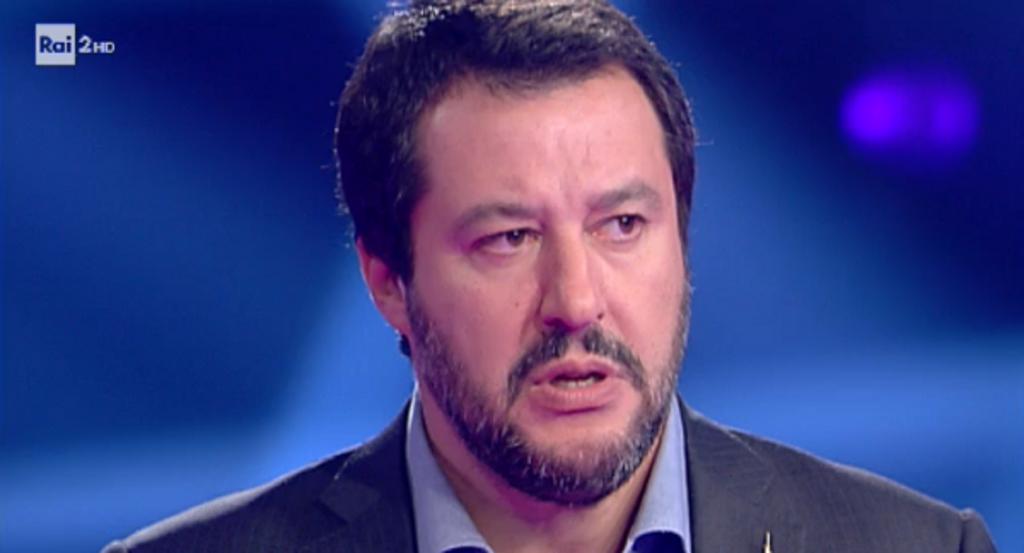Porta a Porta - duello Renzi-Salvini Rai 1