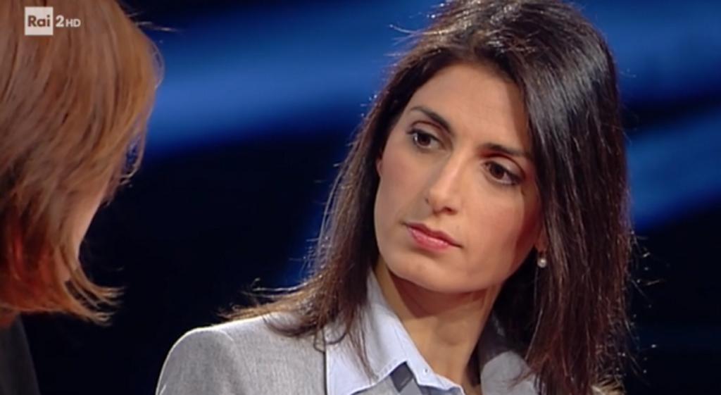 Parla di uscita dell'Italia dalla UE, Santoro caccia la leader di Casapound