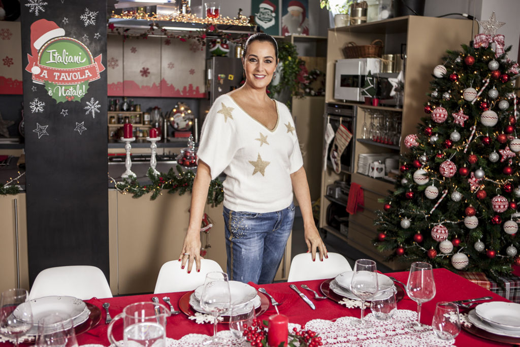 Italiani a tavola natale su food network for A tavola con guy