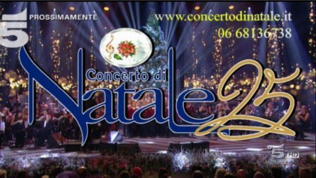 Gerry Scotti conduce il CONCERTO di NATALE   Stasera su Canale5
