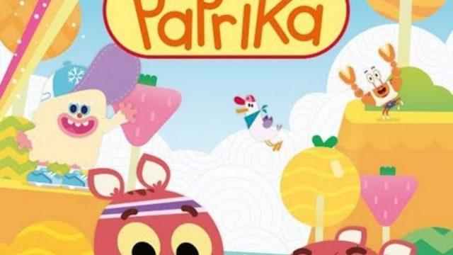 Paprika cartone animato sulla diversità dal marzo su