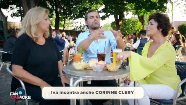 Corinne Clery - Fan Caraoke