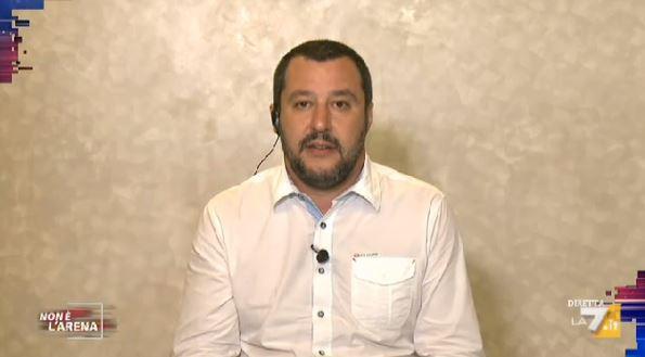 Non è L'Arena 10 novembre - Matteo Salvini