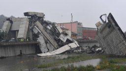 Ponte di Genova inaugurazione in tv, crollo del ponte Morandi