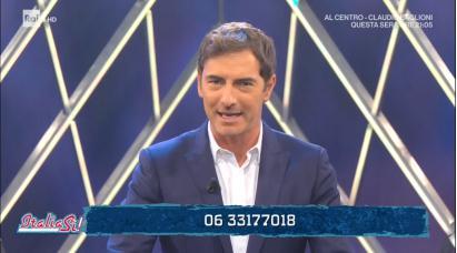 Italia Si Sanremo Giovani 2019 - Marco Liorni
