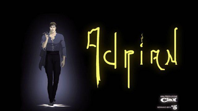 Adrian show 14 novembre - Celentano e il logo della serie