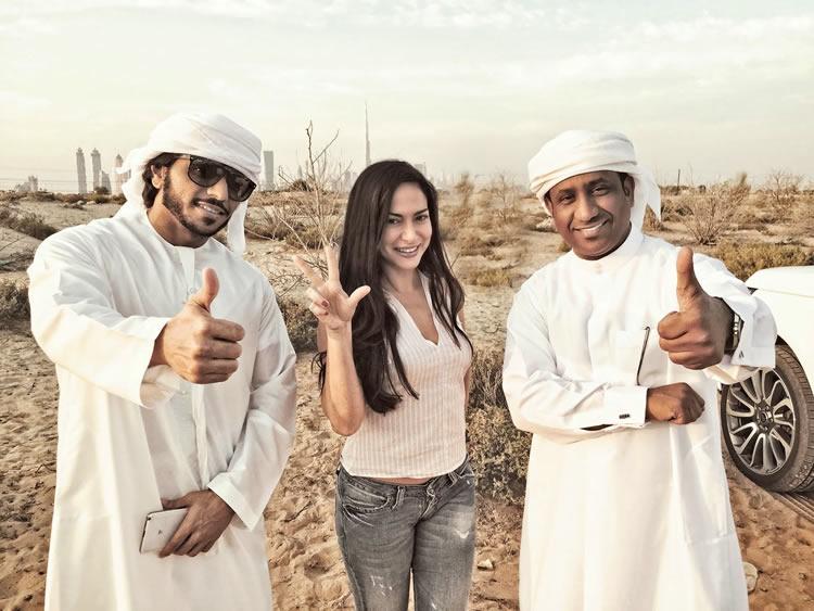 Un'italiana a Dubai Benedetta Paravia