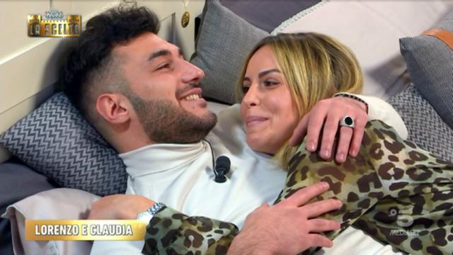 Speciale Uomini e Donne la scelta Lorenzo e Claudia