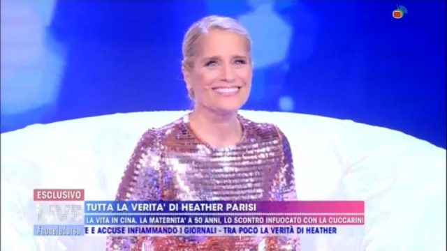 Stasera in tv 18 novembre 2029 - Heather Parisi