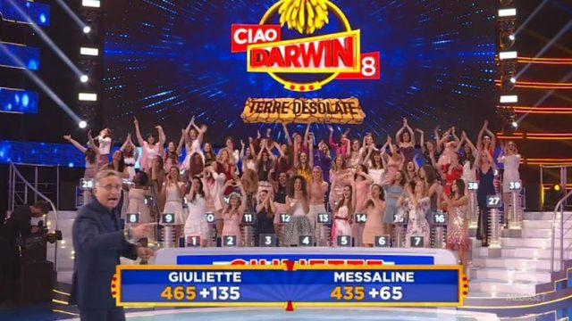 Ciao Darwin Giuliette vs Messaline chi ha vinto