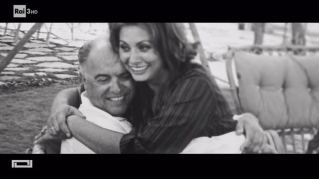 A raccontare comincia tu Sophia Loren e Carlo Ponti