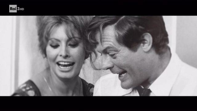 A raccontare comincia tu Sophia Loren e Marcello Mastroianni