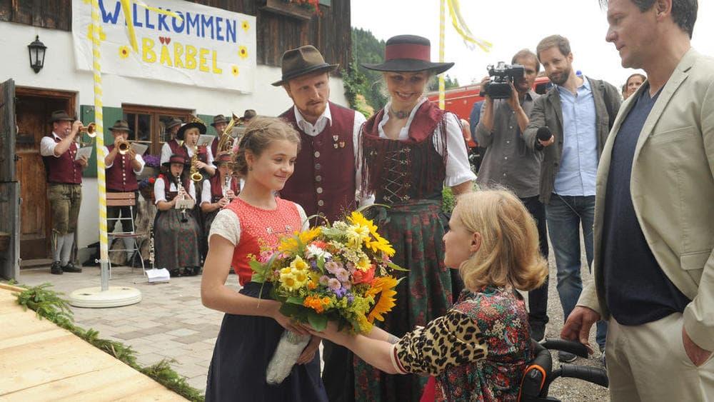 Un'estate tra le montagne bavaresi attori
