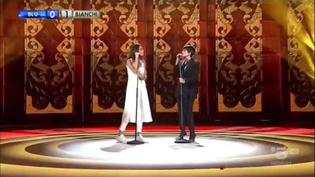 Amici celebrities - duetto Camassa