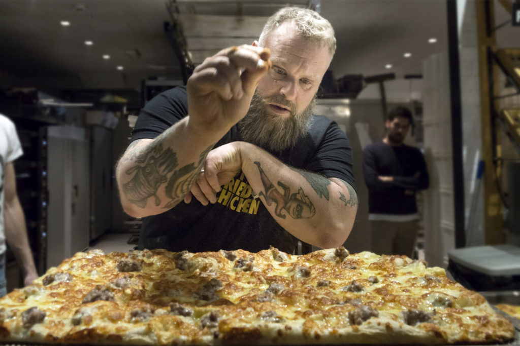Bake Off Italia 7 - Gabriele Bonci pizza