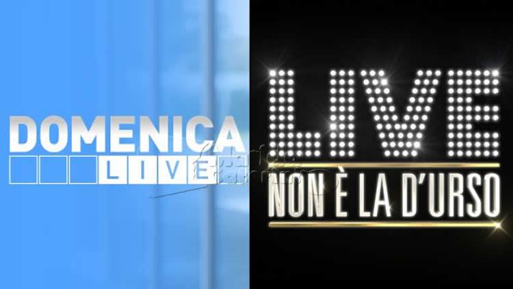 Domenica Live e Live non è la D'Urso 20 ottobre