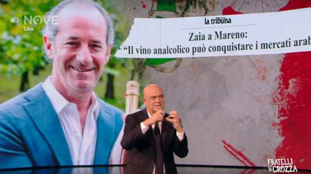 Fratelli di Crozza - Maurizio Crozza e le contraddizioni di Luca Zaia in casa Lega