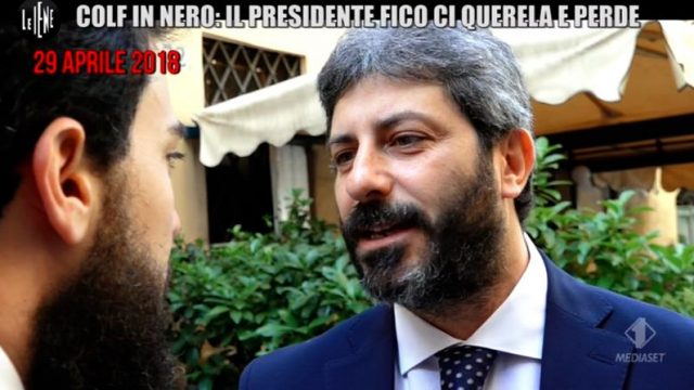 Le Iene Show Diretta 22 ottobre - Roberto Fico querela Le Iene e perde