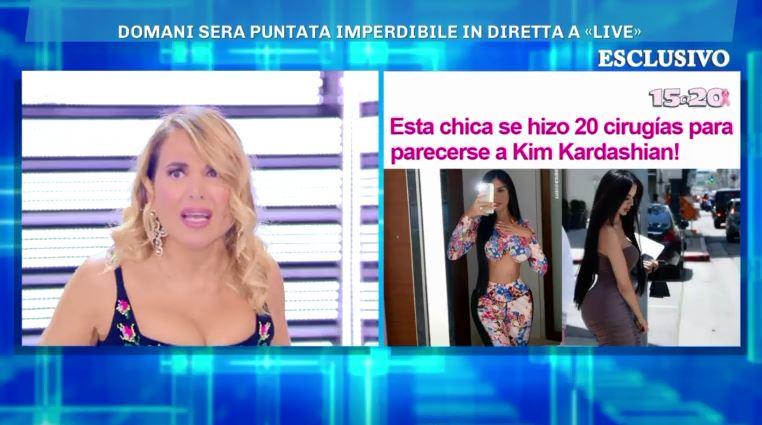 Live - non è la D'Urso 28 ottobre Kim Kardashan