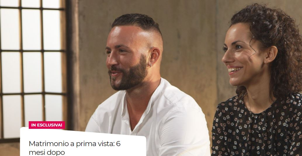 Matrimonio a prima vista 6 mesi dopo Real Time