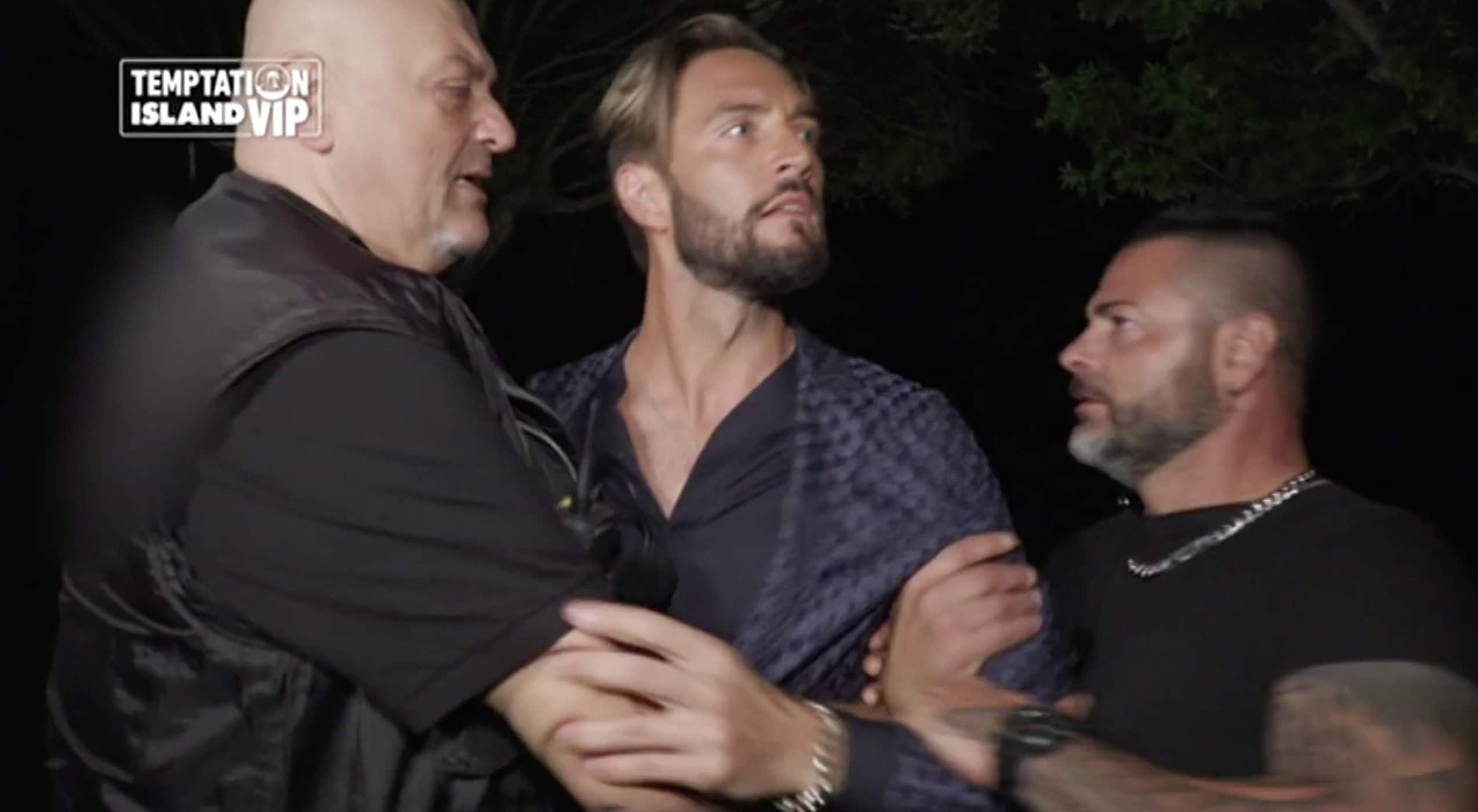 Temptation Island Vip 2 - puntata 14 ottobre Alex Belli furioso