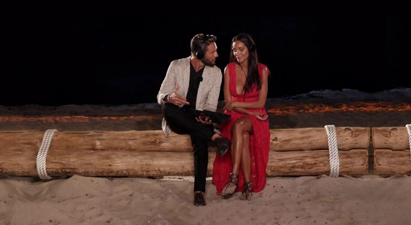 Temptation Island Vip 2 - puntata 14 ottobre falò Serena Enardu e Pago
